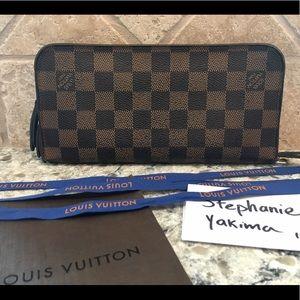 Authentic Louis Vuitton Damier Insolite Wallet